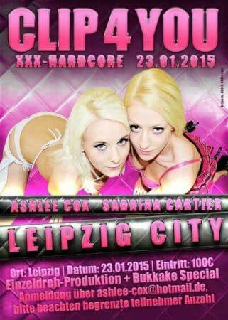 Sexgarantie mit Ashlee Cox und Sabrina Cartier in Leipzig