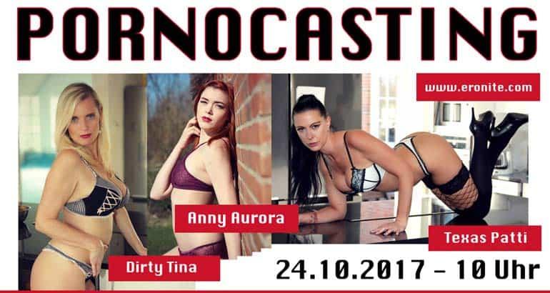Großes Pornocasting mit Texaspatti, Anny Aurora und Dirty Tina