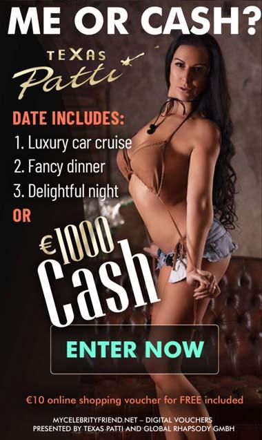 Ein Date mit Texas Patti oder 1.000 Euro CASH
