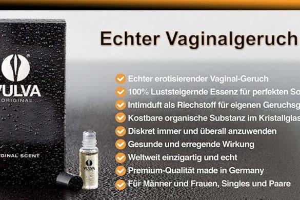 Verrückt: Echter Vaginalgeruch in der Flasche