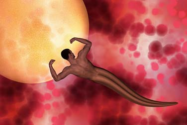 mann isst eigenes sperma für die frau