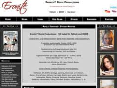 Die Eronite-Website im Wandel der Zeit