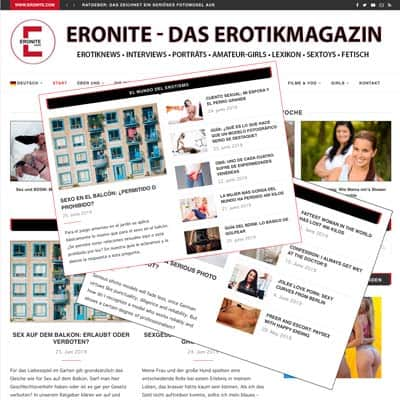Erotiknews in drei Sprachen