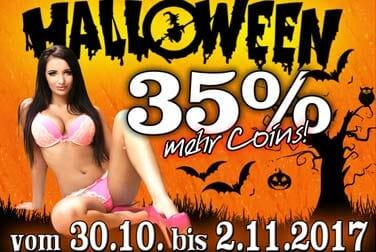 Halloween-Pornos und Livecam jetzt 35% billiger!