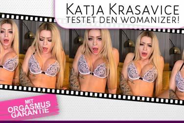 Katja Krasavice Porno zu hart für Youtube? Na und?!