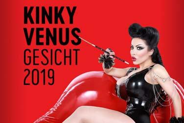 Das Gesicht der Kinky VENUS 2019 fasziniert