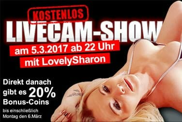 MILF Show mit Lovely Sharon for free!