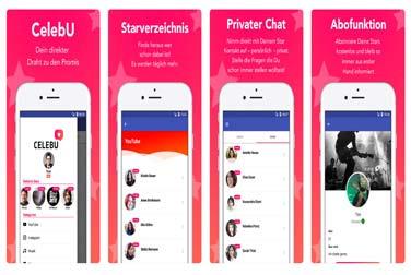 Messenger und Marketing-App für Stars und Sternchen