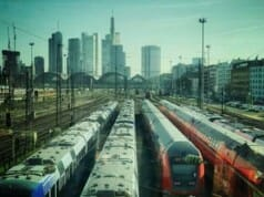 Ekel-Alarm: Frau in S-Bahn mit Sperma besudelt