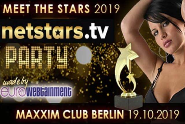 Im mondänen Club Maxxim steigt die Netstars.tv Party 2019