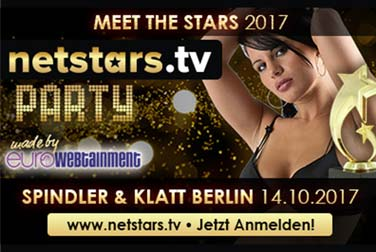 Die Netstars.TV Party 2017 – Stars, Erotik & Musik