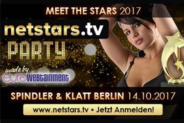 Die Netstars.TV Party 2017 – Stars, Erotik & Musik