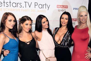 NetstarsTV Party 2018 zur Venus in Berlin