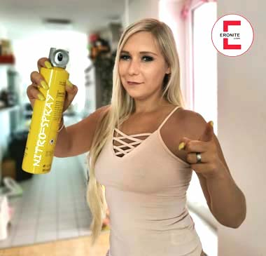 Nitro-Spray gegen sexuell übergriffige Männer