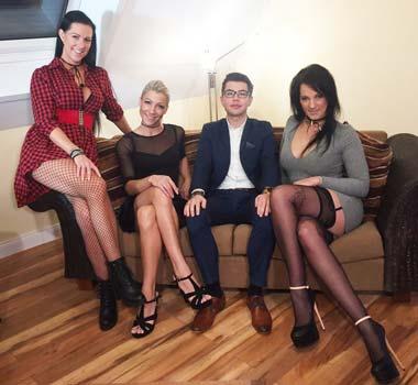 Großes Pornocasting 2017 mit Texaspatti, Anny Aurora und Dirty Tina