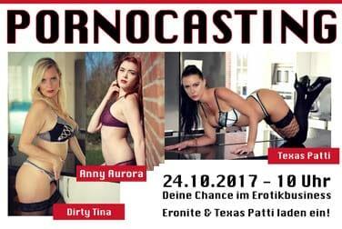 Pornocasting mit Texaspatti, Anny Aurora, Dirty Tina