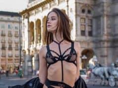 Pornostar Little Caprice – Fotoshooting mitten in Wien