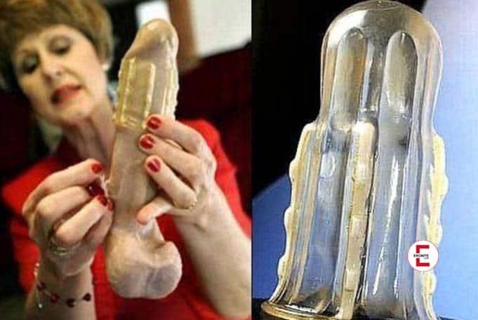 Das Kondom des Grauens: Rapex schützt Frauen