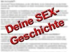 Schick uns Deine Sex-Geschichte!