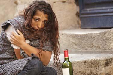 Für eine Mahlzeit: Sex mit obdachlosen Frauen