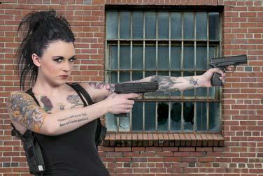Sexistische Tattoos im Polizei-Dienst: Ablehnung!