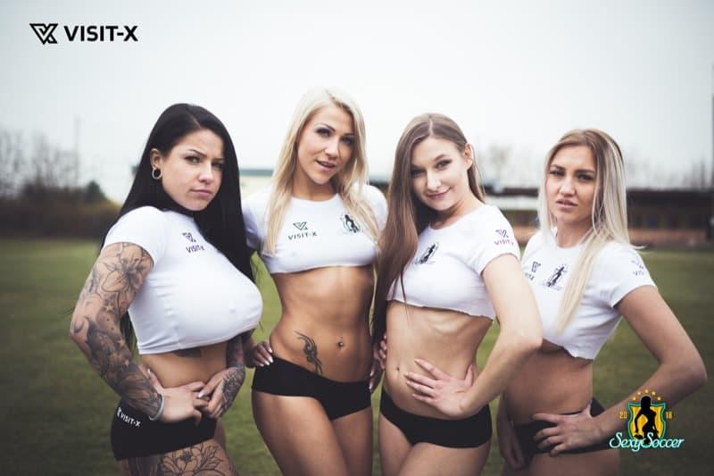Sexy Soccer 2018: Ein Ex-Playmate und La Mica