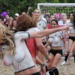 Am Spielfeldrand: Sexy Soccer 2014