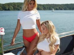 Playboy-Shooting mit Micaela Schäfer und Stella Stern