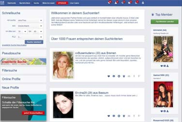 Social Dating Community Blaukontakt