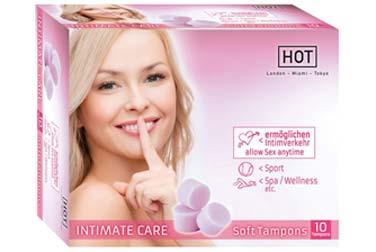 Mit Soft-Tampons: Sex während der Periode