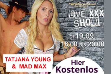 Tatjana Young live mit Partner Mad Max