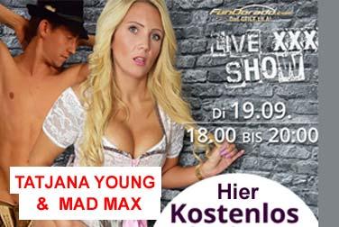 Tatjana Young 90 Minuten live – kostenlos!