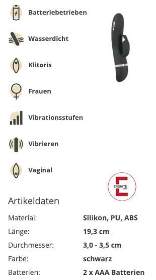Sextoy im Test: E-Stim Rabbit Vibrator mit Reizstrom