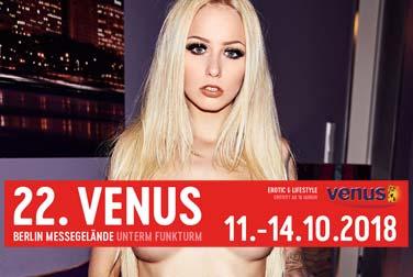 Vier auf einen Streich für die Erotikmesse VENUS 2018