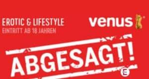 Abgeblasen: Erotikmesse VENUS 2020 abgesagt