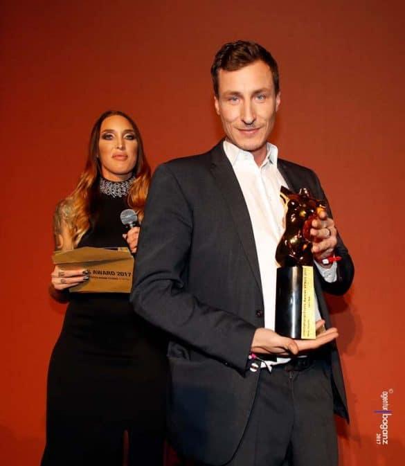 Venus Awards 2017 Jason Steel Paula Rowe