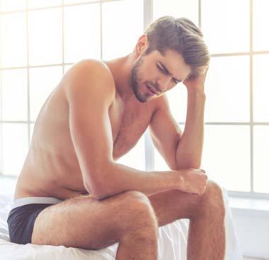 Versagensängste beim Sex: Flaute im Bett beim Mann?