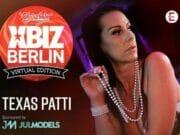 Texas Patti repräsentiert die XBIZ-Awards 2021 Europe